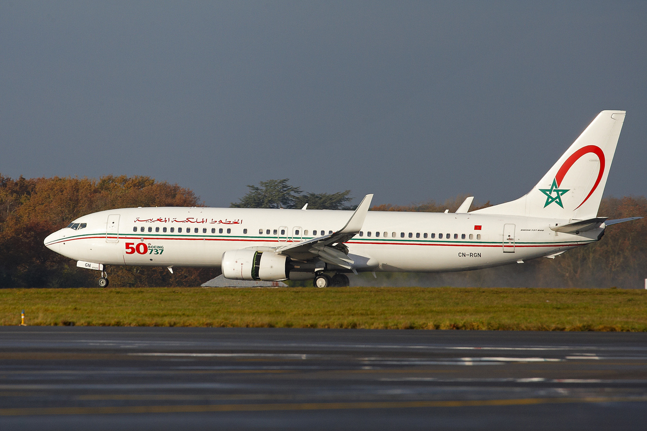 [ 18/05/2013 ] B737-8B6 Royal Air Maroc (CN-RGN) 50 th boeing 737 116084GRX9058