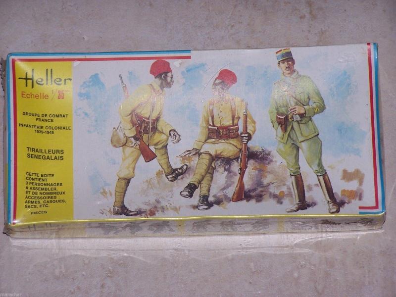 [ Heller ] Diorama Koufra 1/35 116314GroupedeCombatTirailleursSngalais137Heller135