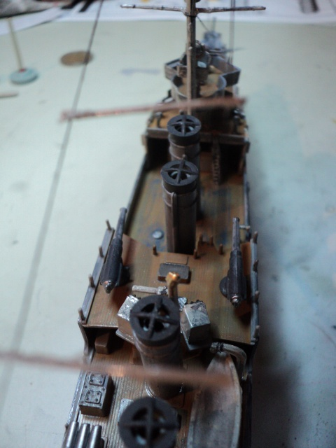HMS Campbeltown 1/240 Revell 117296DSC01329