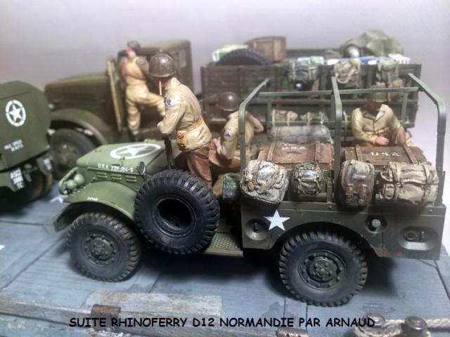Rhinoferry D12 plage du débarquement Normandie (Hobby Boss, AFV, Italeri, 1/35) - Page 2 118324dodge1003
