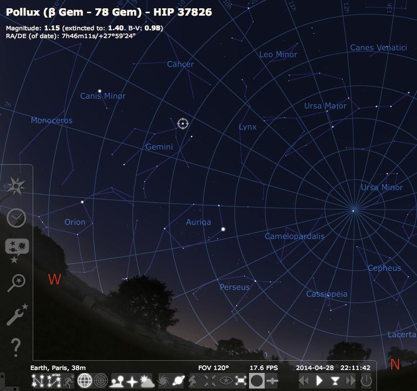 Vito Dumas, ou la nav astro de réchappe ! - Page 3 118369Stellarium