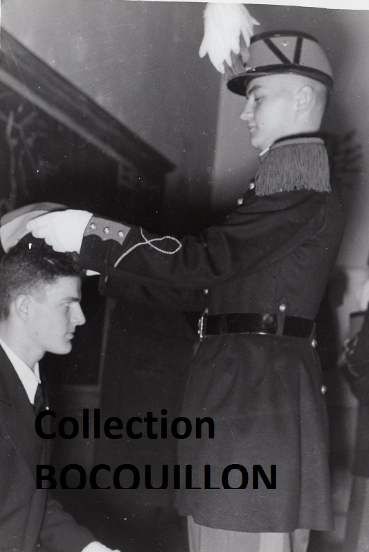 """Sous-lieutenant Yves ALLEMANE Promotion """"AMILAKVARI"""" 18è RCP AFN 118491103"""