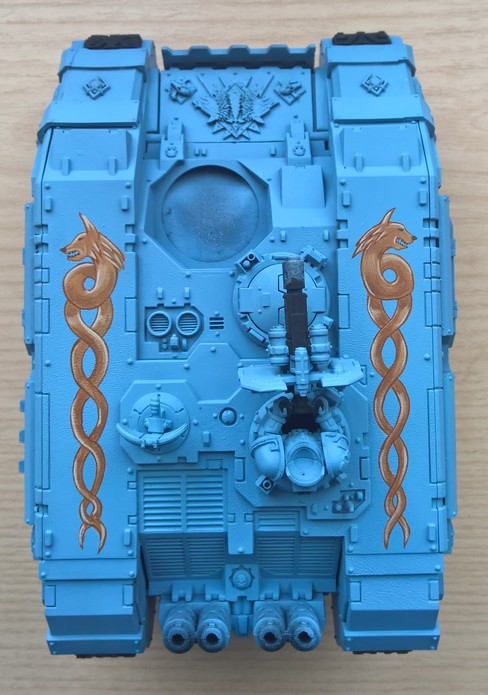 Space Wolves - Typhon... un peu particulier  - Page 2 118984Landraider7