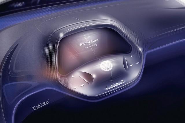 La première mondiale de l'I.D. lance le compte à rebours vers une nouvelle ère Volkswagen  119637volkswagenid0013