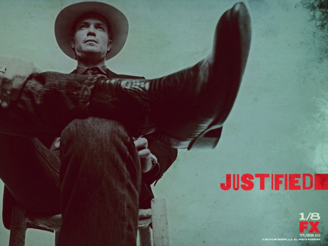 Justified (de Graham Yost) 120362JustifiedSeason4PromoPoster6