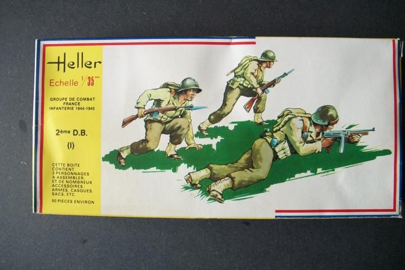 Groupe de Combat Français (réf.119) 2ème DB (1) 1/35 120815Heller119135001GroupedeCombatFrance2DBI