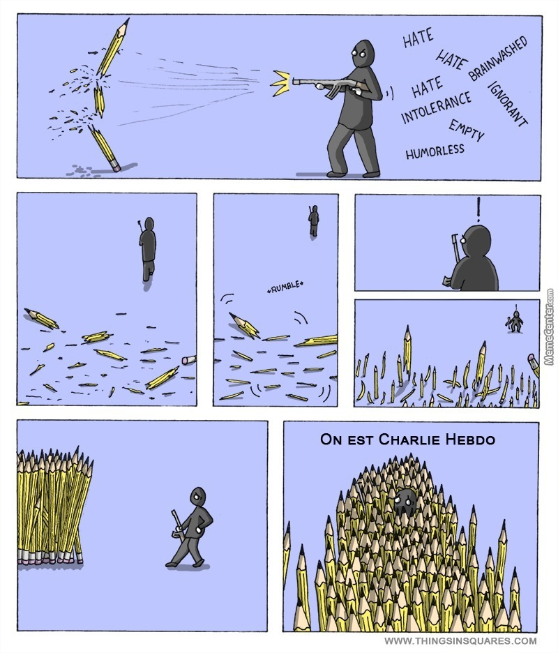 """Le """"Quoi l'Enculé du jour"""" (©) - Page 6 120991charliehebdocomico4383985"""