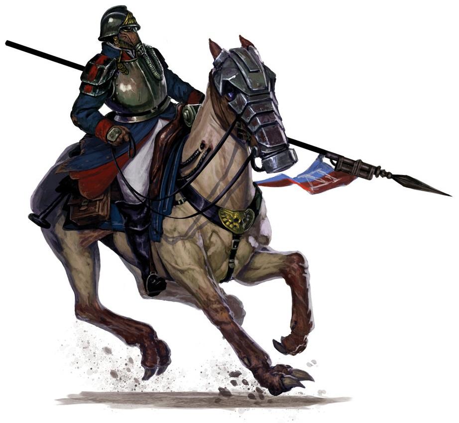 [W40K] Collection d'images : La Garde Impériale - Page 2 121028DKKdeathrider2bydiegogisbertllorens