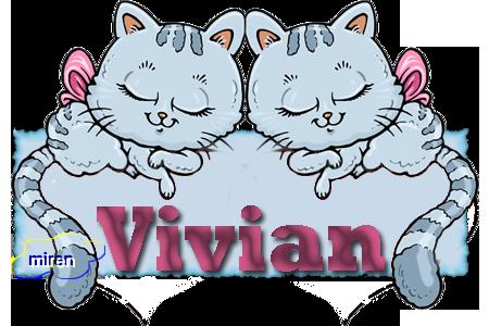Nombres con  V 1210371Vivian