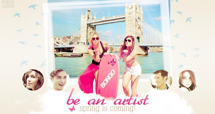 BE AN ARTIST ϟ