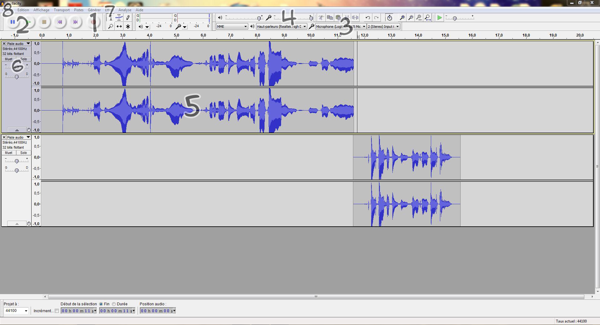 [Mini tuto] Enregistrer sa voix avec audacity 122514audacity1