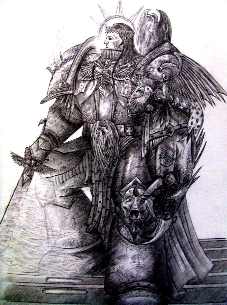 [W30K] L'Empereur de l'Humanité / The Emperor of Mankind 123442TheEmperorofMankindbyLinfordHMann