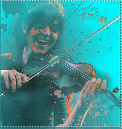 "[moyen] Tutoriel photoshop ""Sing in your bubble"" 123460lindseystirling"