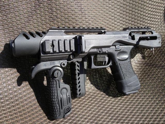 Kit carabine K.P.O.S pour Glock (Copie modèle FabDefense-Génération 1) 123537IMG6048