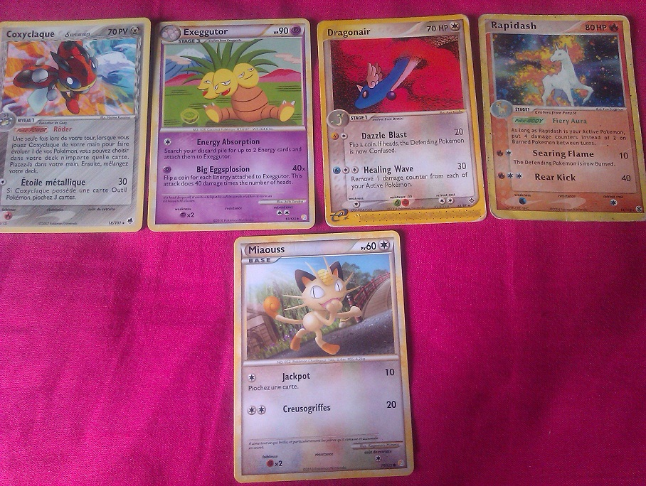 Cartes Pokémon (Boosters, Echanges...) 123652IMAG0958