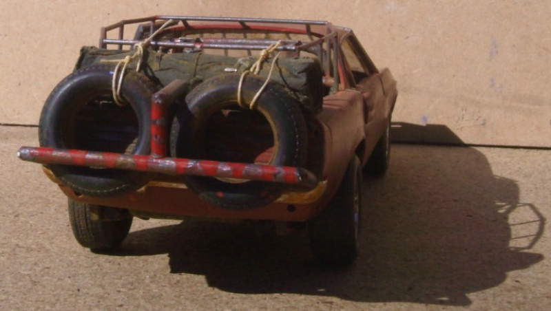 """Shelby 69 """"mad max"""" 1/24 126022shelby693"""