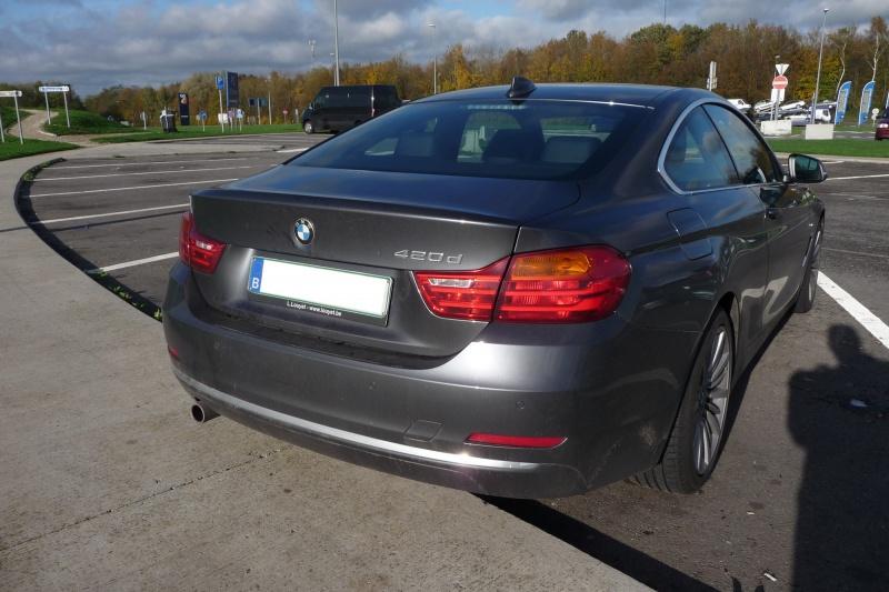 BMW 420D 163 cv 126122Arrire