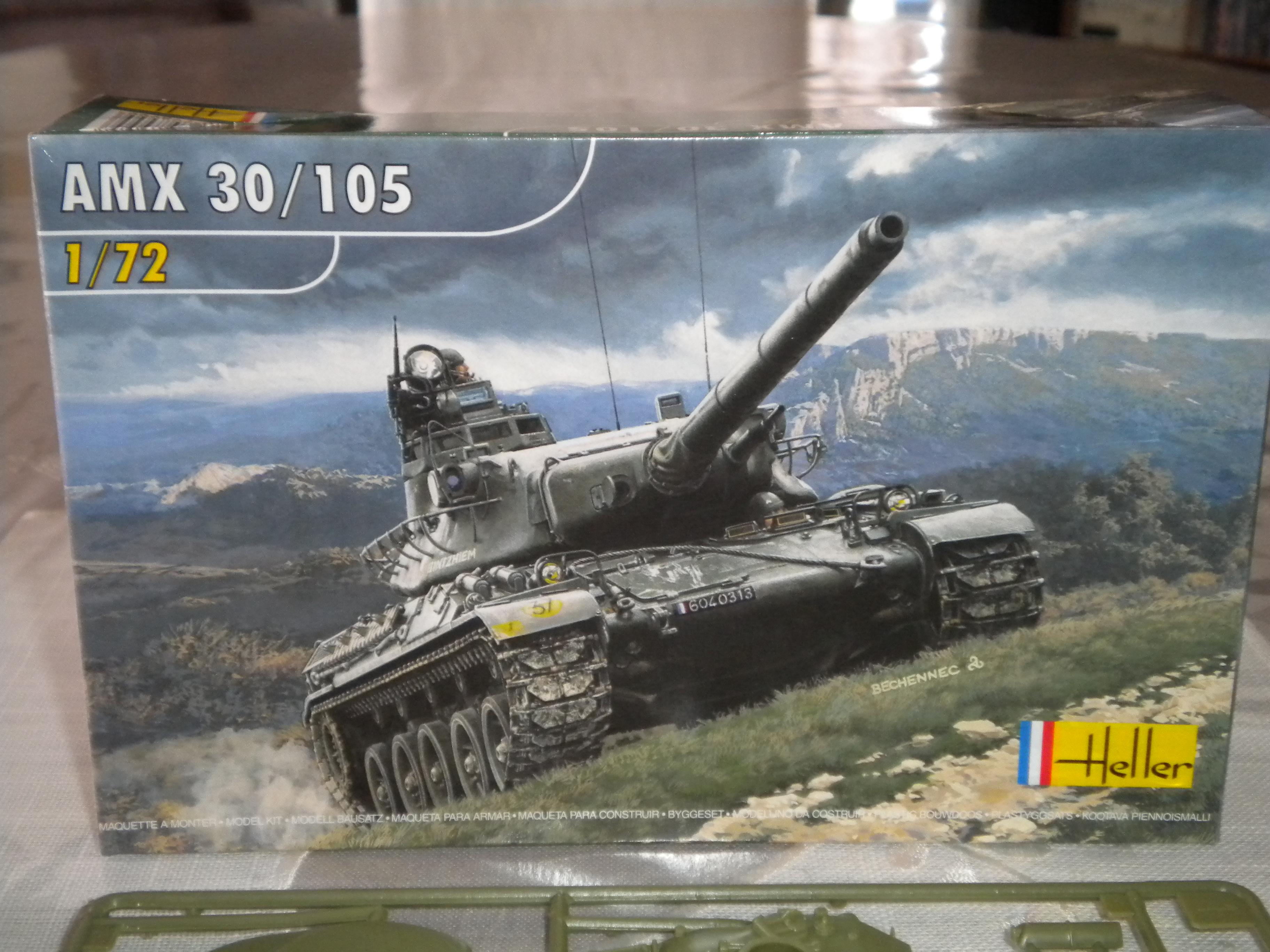 AMX 30/105 HELLER 1/72 126691DSCN7081