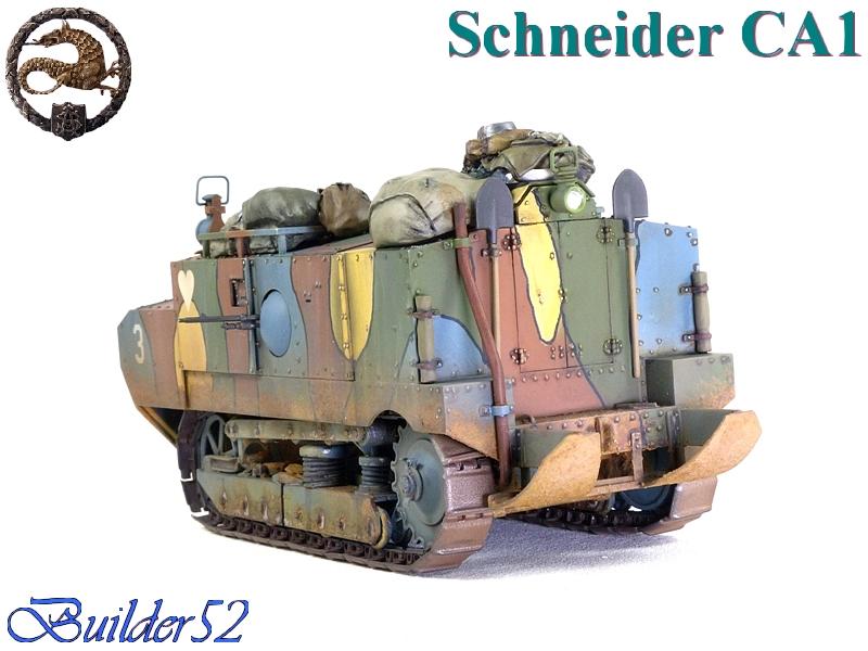 CHAR SCHNEIDER CA 1 - HOBBY BOSS 1/35 127150P1050067
