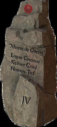 Lettres de sang: Les Pierres des Conquérants 127292614