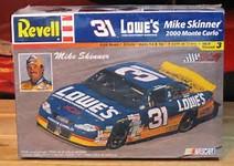 Chevy Monte-Carlo 2000-2002 #31 Mike Skinner Lowe's 127920C2000K2
