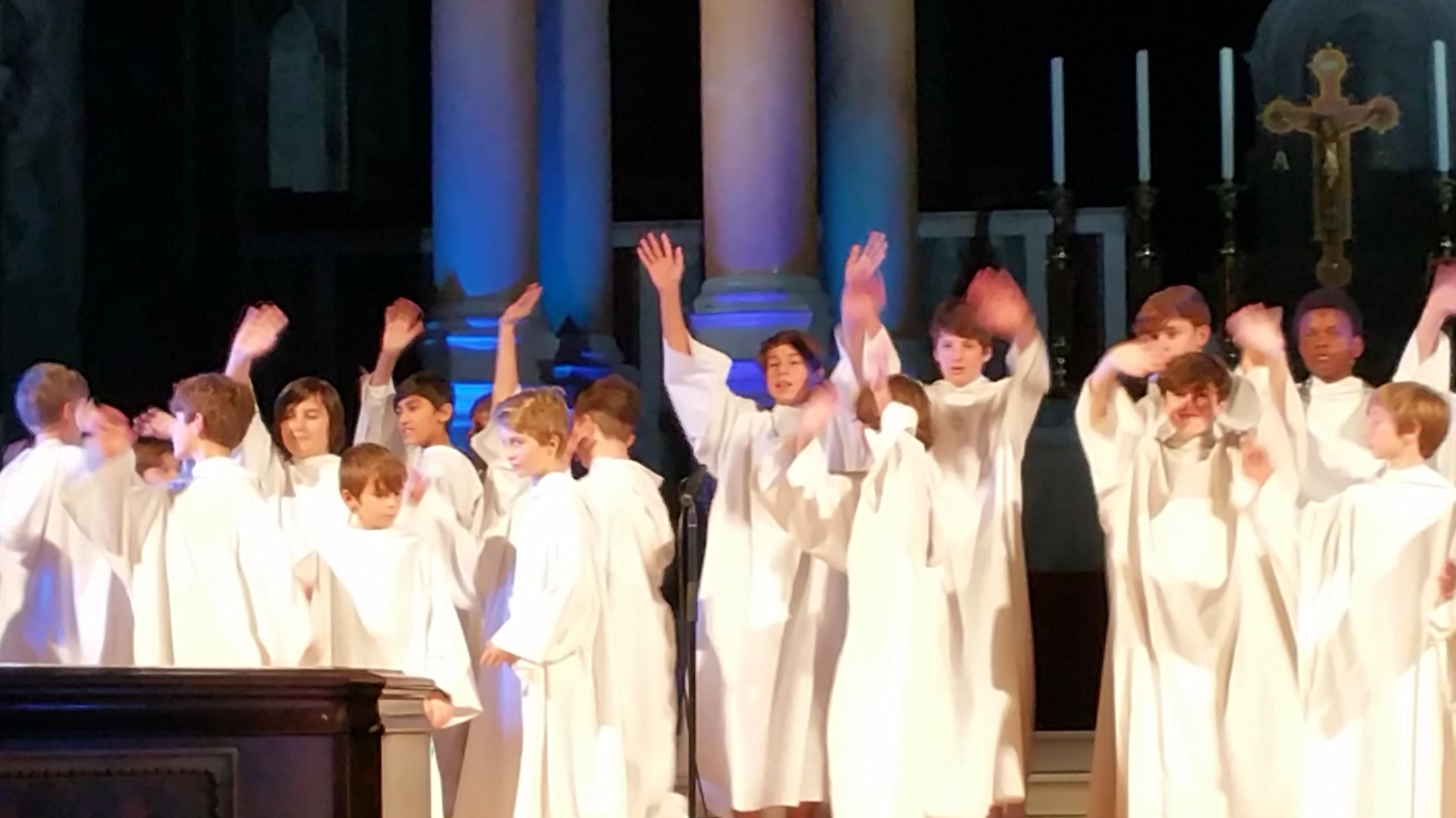 Concert à la cathédrale de Westminster (initialement St George's) le 1er décembre 2017 - Page 3 12806620171201221117