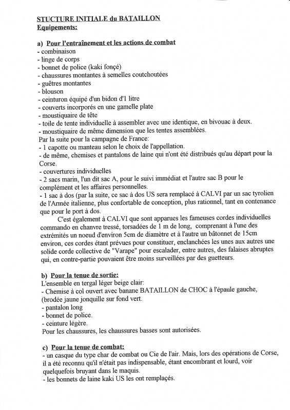 Le 1er Bataillon de Choc à STAOUELI en 1943  par Maurice DOUET (2002) 128342806