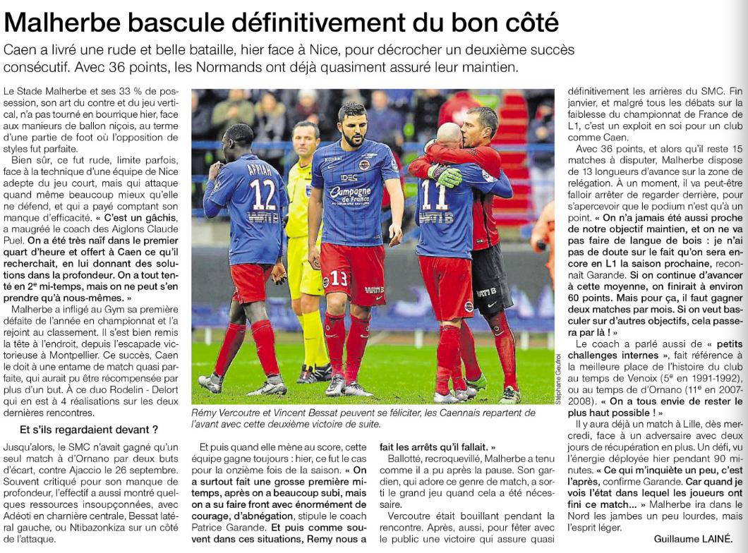 [23e journée de L1] SM Caen 2-0 OGC Nice - Page 2 128443nice1