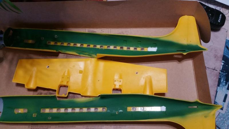 DOUGLAS DC-6B SECURITE CIVILE maquette HELLER au 1/72° 13050420171205084936