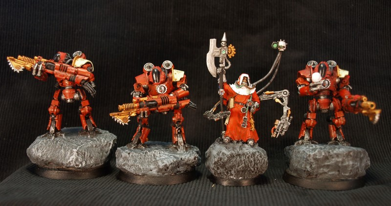 Vitrine de Phil54 - Nains Warhammer 131347MechanicumTroupes0
