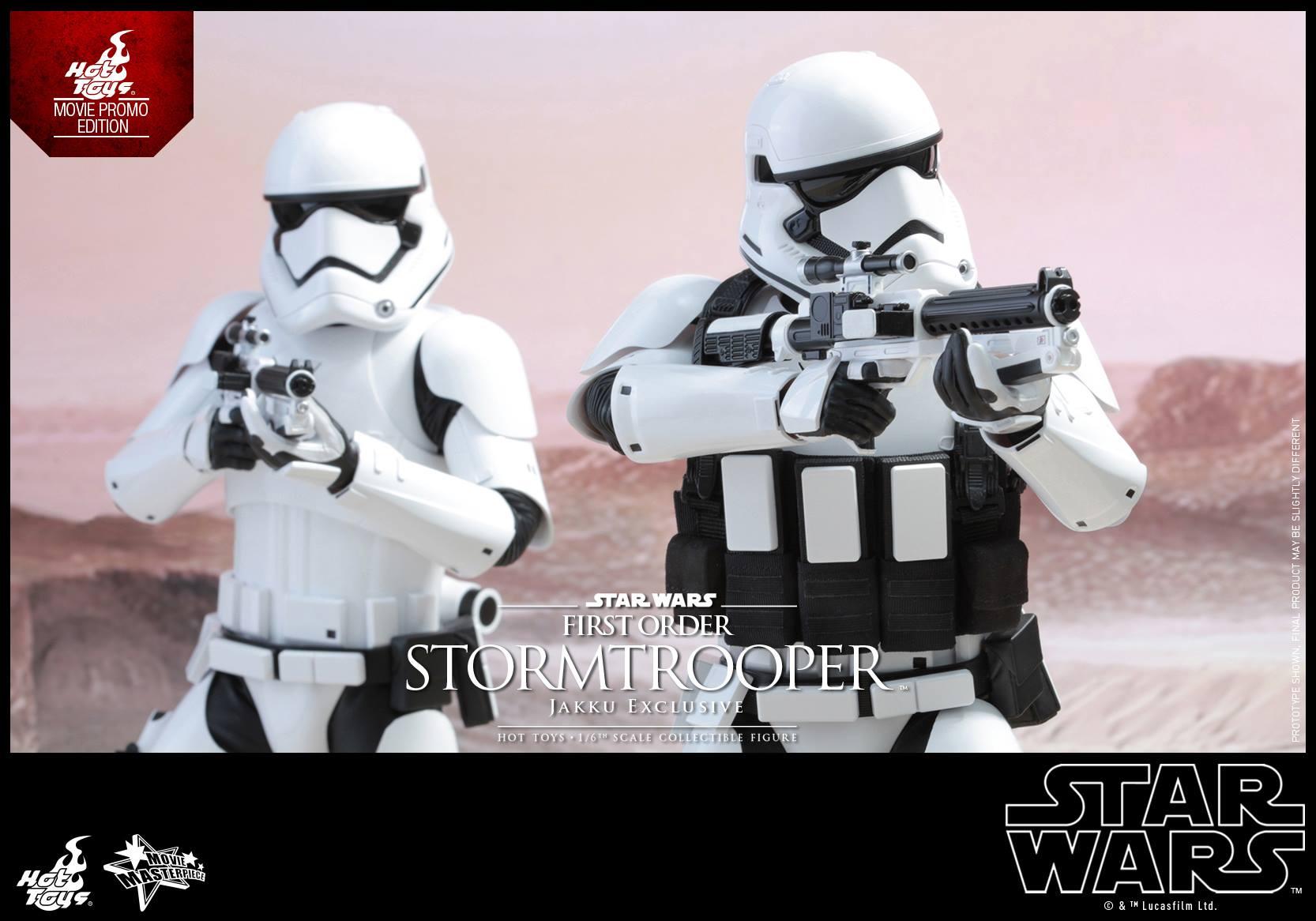 HOT TOYS - Star Wars: TFA - First Order Stormtrooper Jakku  131517109