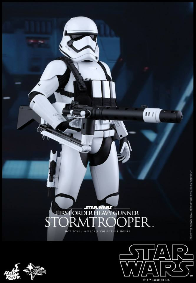 HOT TOYS - SW7: TFA - First Order Heavy Gunner Stormtrooper 131991107