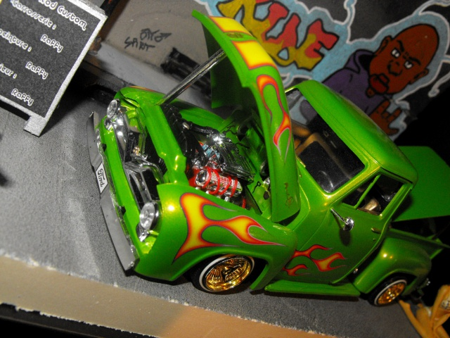 Ford F100 '55 lowrider greenfire (Terminé) 132129DSCF0155