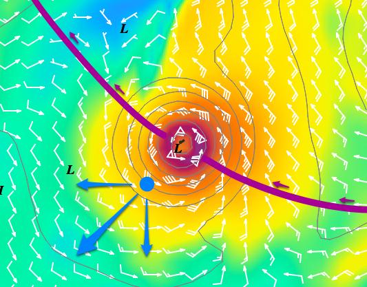 Cyclone GONZALO sur les îles du Nord des Antilles 132712EsquivCycloPetAnt12