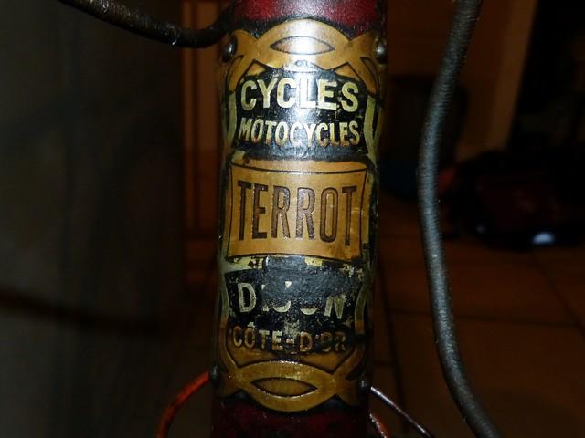"Terrot ""course standard"" 1930-31 grenat. 132897P1200696"