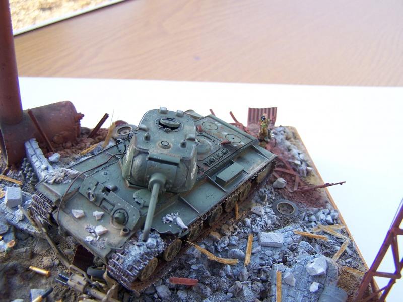 """Duel""  KV1c vs Panzergrenadiere Russie 42 1347011005506"