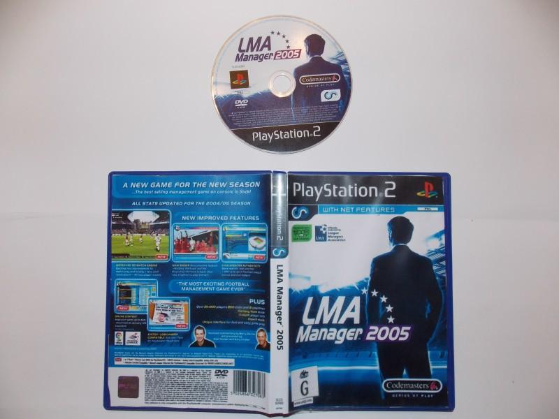 LMA Manager 2005 134727Playstation2LMAManager2005