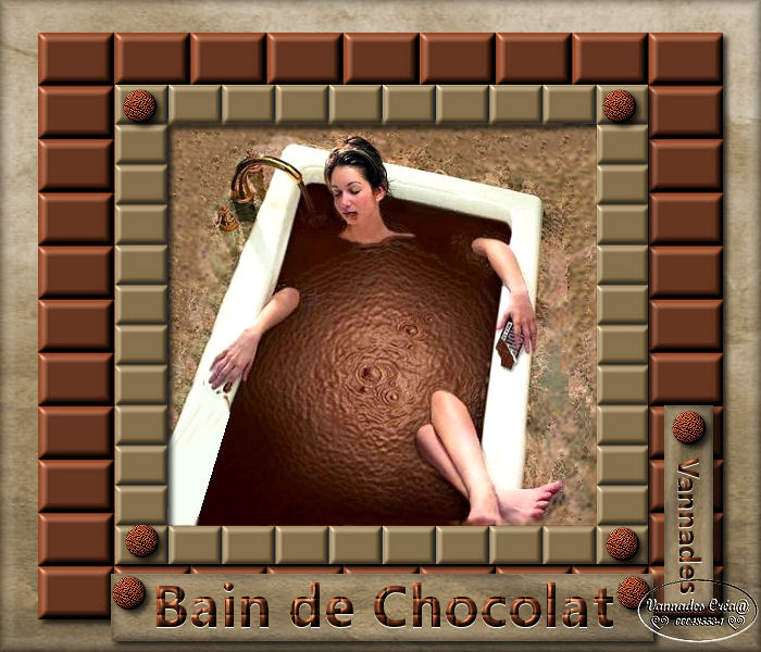 """42 """"Bain de Chocolat"""" tuto de vannades cré@ 135361crationsansanimation"""
