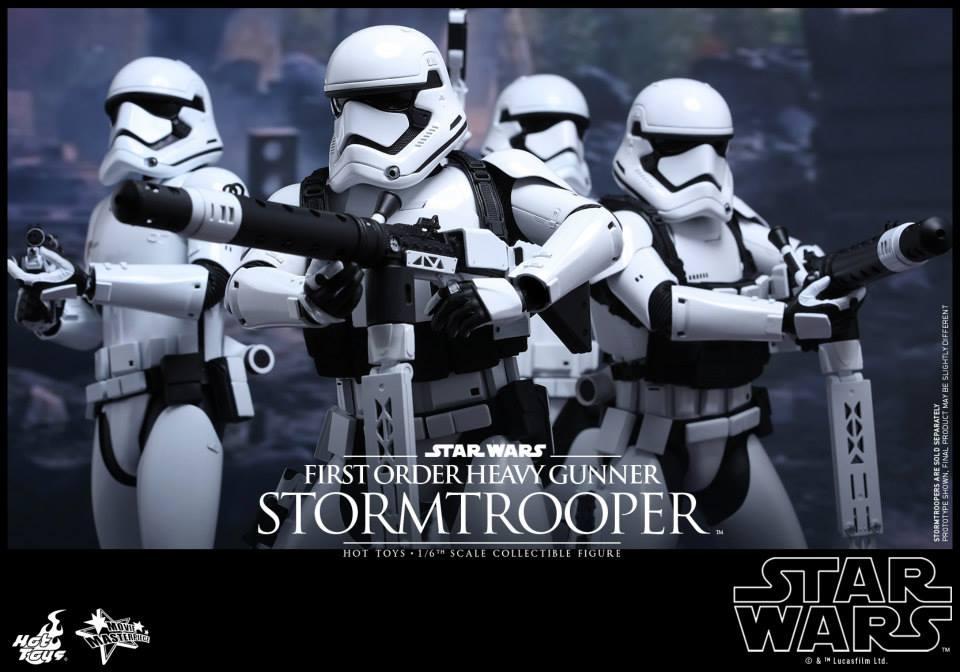 HOT TOYS - SW7: TFA - First Order Heavy Gunner Stormtrooper 136003103
