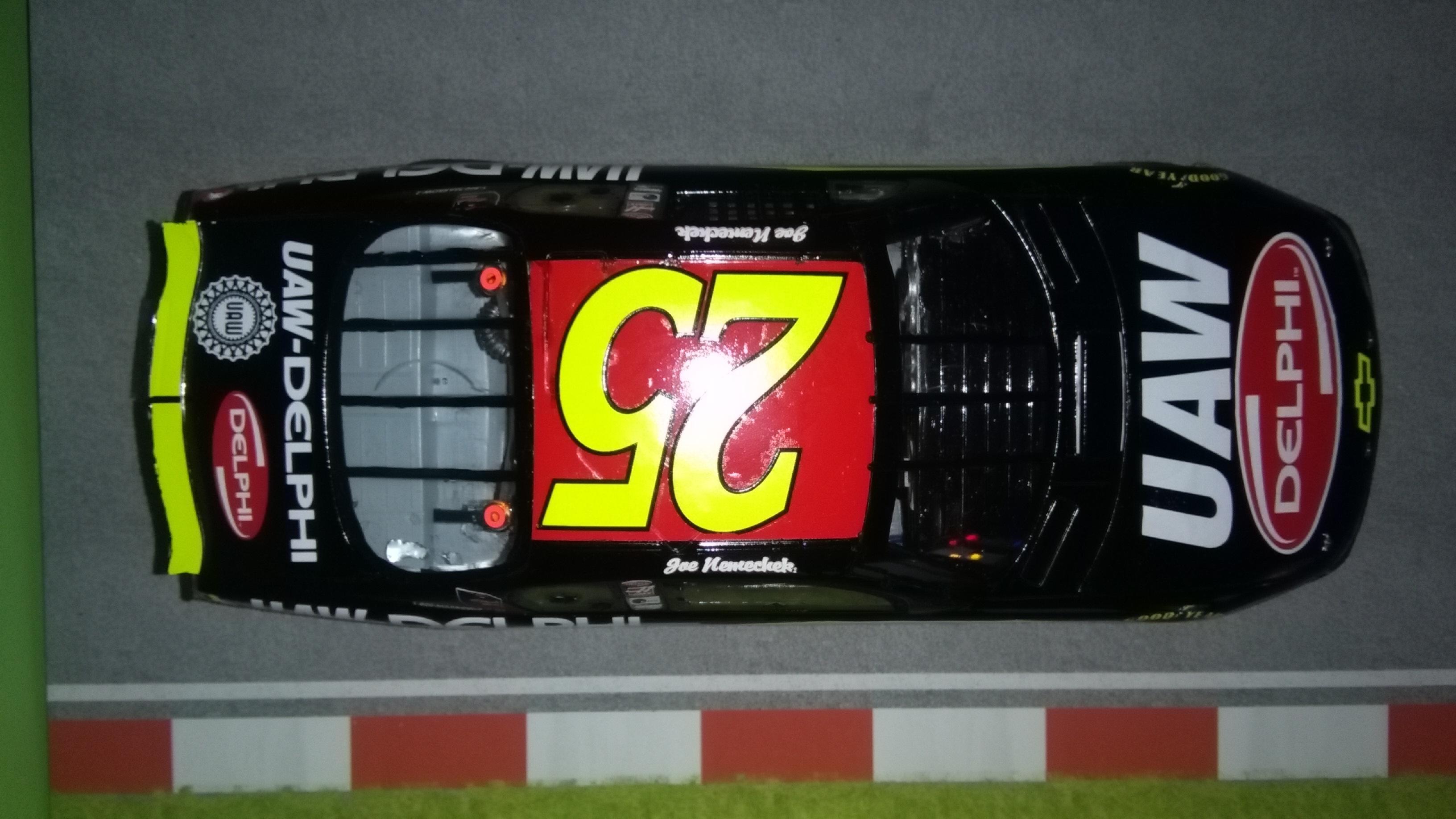 Chevy Monte-Carlo 2002 #25 Joe Nemechek UAW-Delphi  136852IMG20180107152555