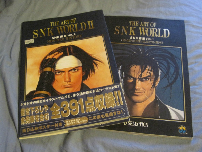 [Vidéo] The Art Of Snk World Vol 1 & 2 137740vol1vol2snkart