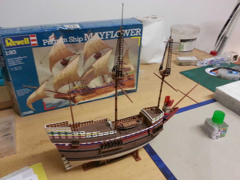 le Mayflower de Revell au 1:83  - Page 3 13835320151027172525
