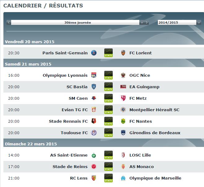 Live Ligue 1 - Page 6 138380CALENDRIER