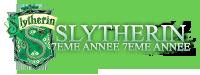 Slytherin 7ème année