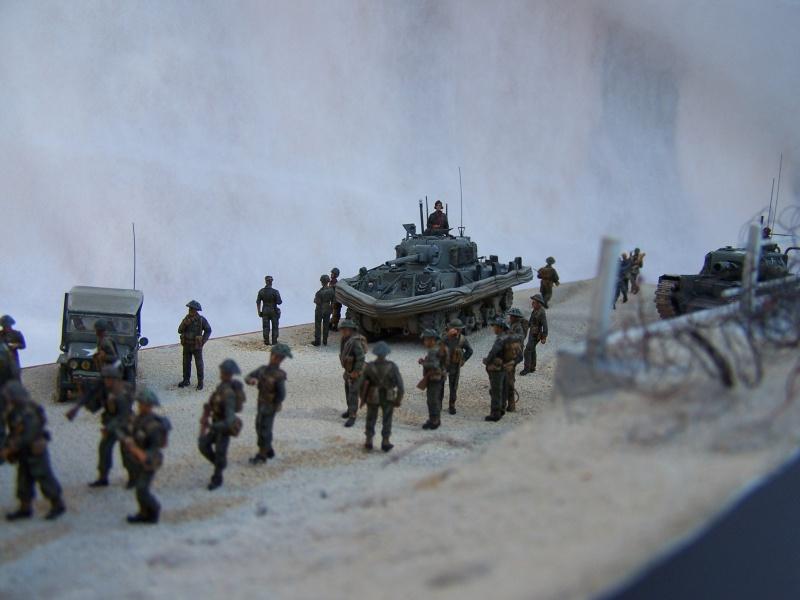 """Juno Beach"" 06.06.1944 Le Fort Garry Horse débarque.... 1389891007493"