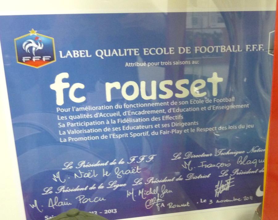 """LA SAINTE VICTOIRE DONNERA AU FC ROUSSET FOOT UN AVENIR """"SACREMENT """" GLORIEUX ! - Page 2 139211P1310387"""