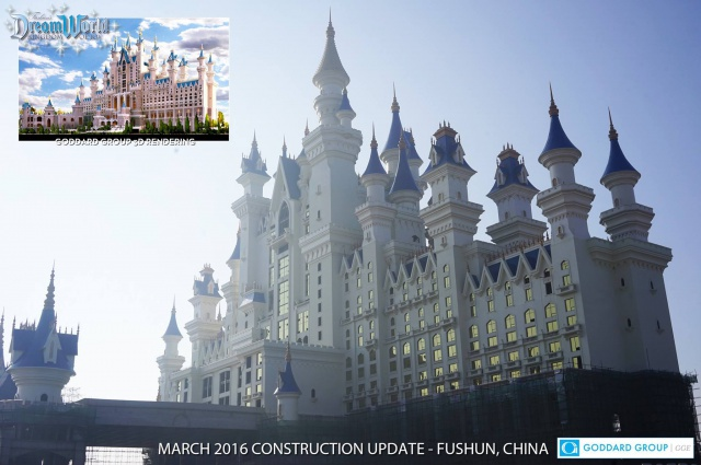 (Chine) Fushun DreamWorld Theme park, Hotel & Resort (201?) 139416w81