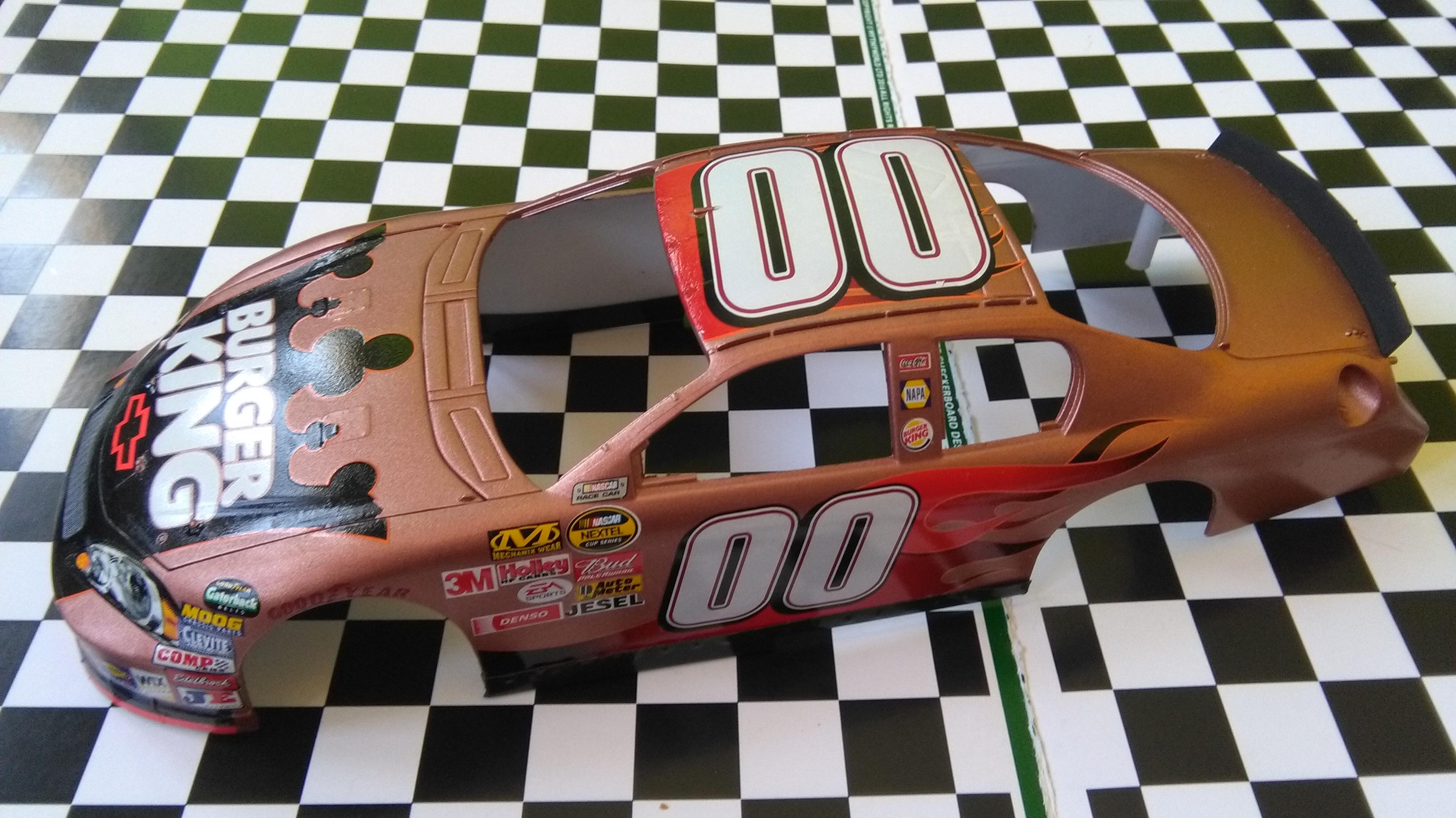 Chevy Monte-Carlo 2006 #00 Bill Elliott Burger King 139454C2006K