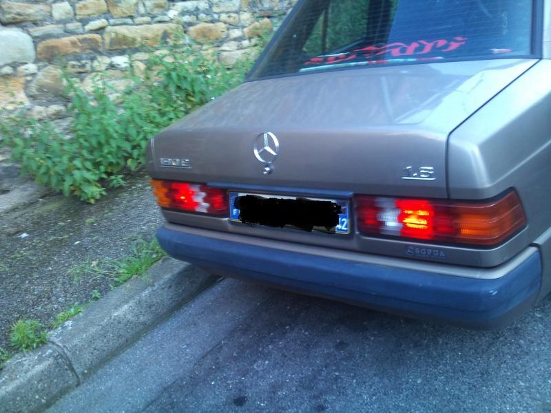 Mercedes 190 1.8 BVA, mon nouveau dailly - Page 9 142336DSC2536