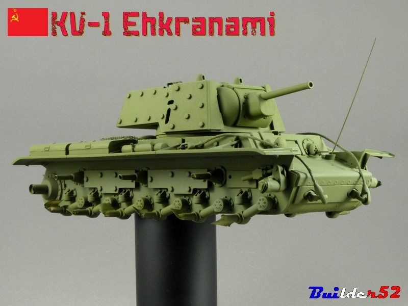 KV-1 Ehkranami  -  TRUMPETER 1/35 - Page 3 142452P1030172